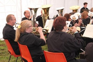 Poole band.Canford regatta_037